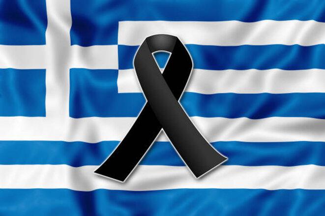 La Grèce éprouvé aujourd'hui un deuil profond pour les victimes