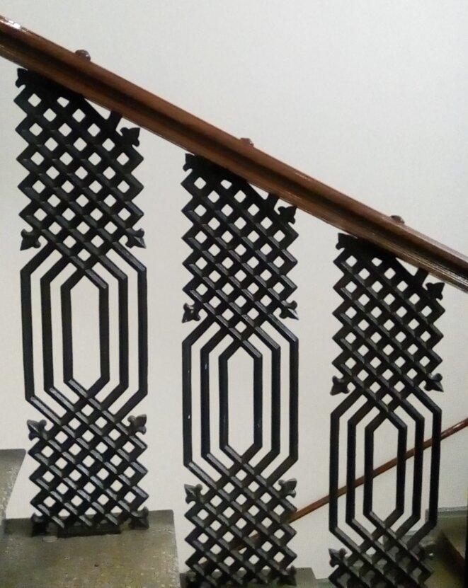 escalier du musée du design