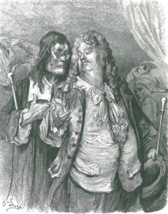 """""""Tant pis"""" et """"Tant mieux"""" (Jean de La Fontaine) © Gustave Doré"""
