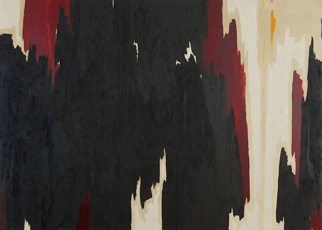 Clyfford Still, «Sans titre», 1958 © C. Still Museum/ARS