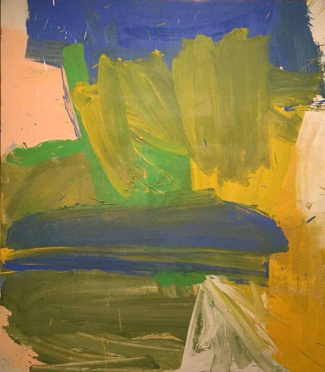 Willem de Kooning, «Villa Borghese », 1960