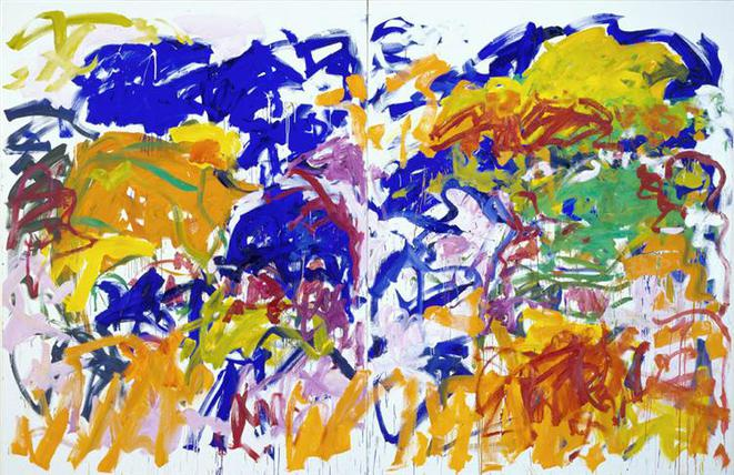 Joan Mitchell, « Ici », 1992 © Estate of J. Mitchell
