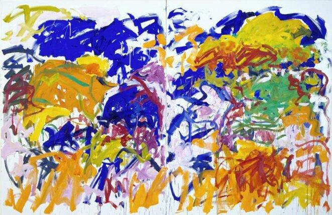Joan Mitchell, «Ici», 1992 © Estate of J. Mitchell