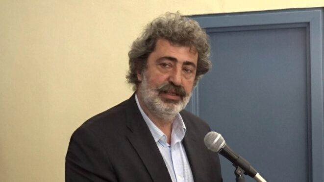 Le très controversé ministre adjoint à la Santé (SYRIZA), M. Pavlos Polakis