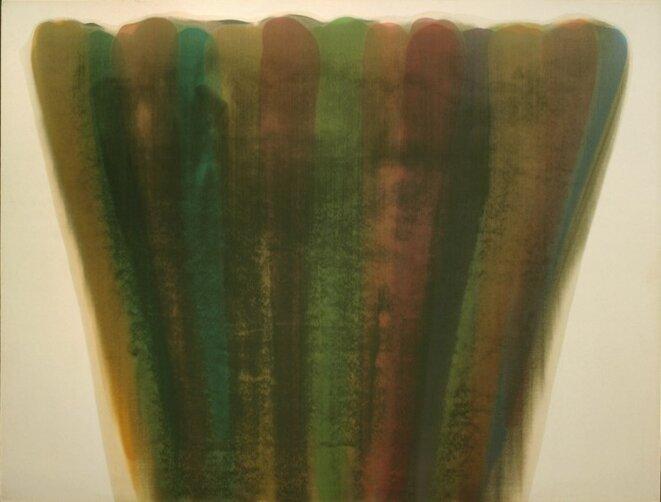 Morris Louis, «Buskin», 1959