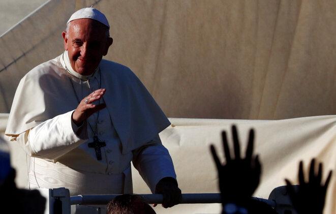 Le pape François, à Rome, le 11 août 2018. © Reuters