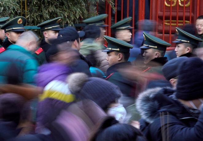Le 16 février 2018, à Pékin, en Chine. © Reuters