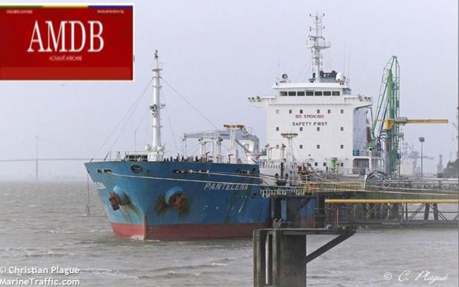 """Le""""M/T PANTELENA"""", un navire pétrolier battant pavillon Panaméen"""