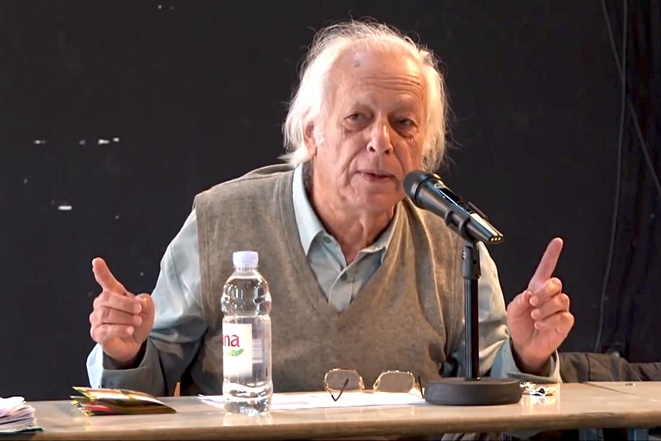 Samir Amin à Zagreb en 2012 © Rosa-Luxemburg-Stiftung