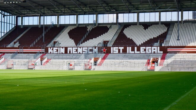 Stade du FC Sankt-Pauli à Hambourg © Arthur Devriendt