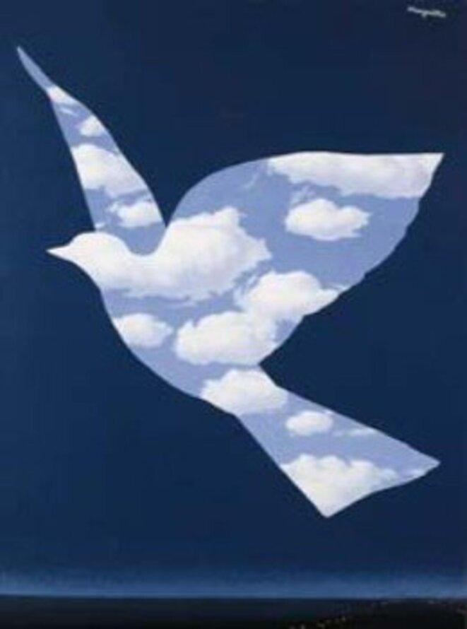 """""""Liberté"""". De René Magritte."""