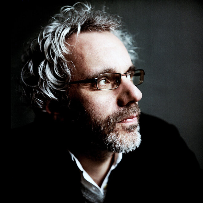 Philippe Vasset. © Richard Dumas