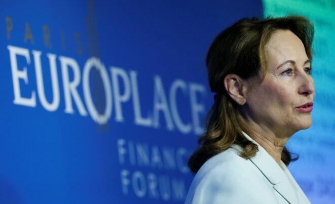 Ségolène Royal, le 11 juillet 2017. © Reuters