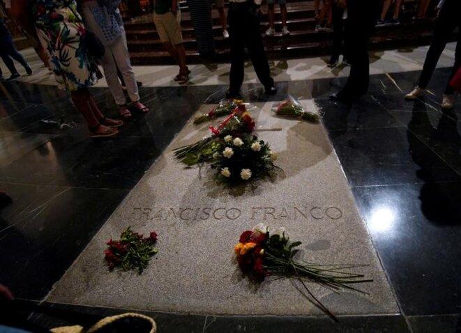 La tombe de Franco. © Reuters
