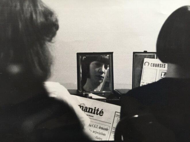 Ma mère dans le miroir de l'Humanité © DR