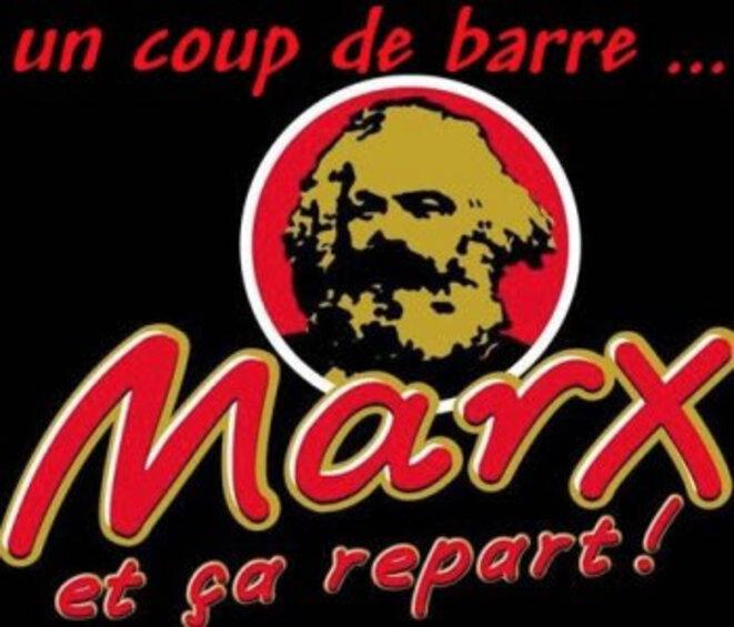 Marx est mort © x