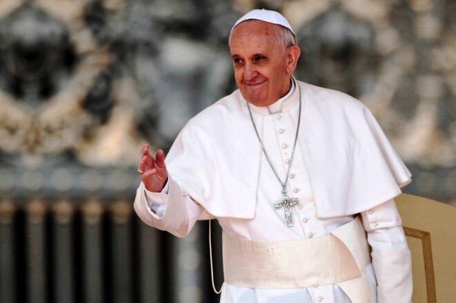 Sa Sainteté le Pape François, auteur de paroles Chrétiennes très Catholiques... © X