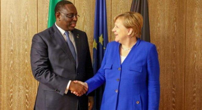 Visite officielle de Mme Angela Merkel au Sénégal