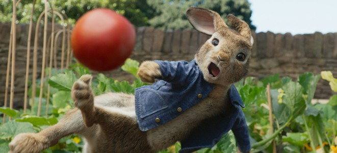 """""""Pierre Lapin"""" de Will Gluck © Sony Pictures"""