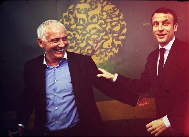 Thierry Coste et Manu Premier
