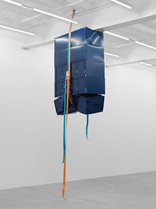 Untitled - Filing Cabinet Sculpture (2011) © Matias Faldbakken - Courtesy of the Artist and Eva Presenhuber, Zurich