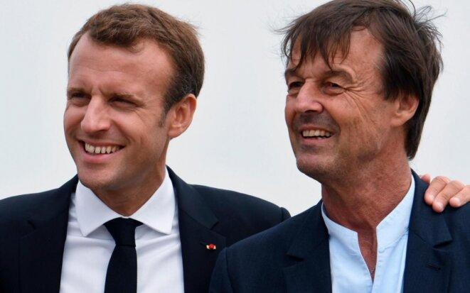 Manu Premier et Nicolas Hulot