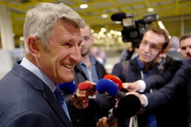 Philippe de Villiers, le 13 juin 2018 © Reuters