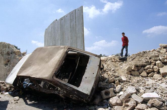 Un camp de réfugiés palestiniens à Bethléem. © Alain Pitton