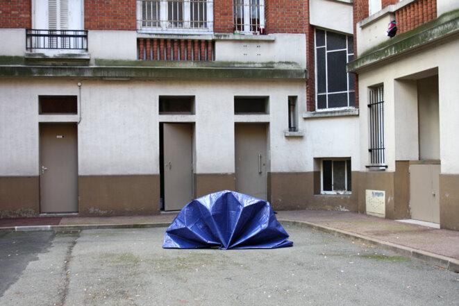 """Aurélie Slonina, """"Guests"""", 2017, APDV centre d'art, Paris © Aurélie Slonina"""