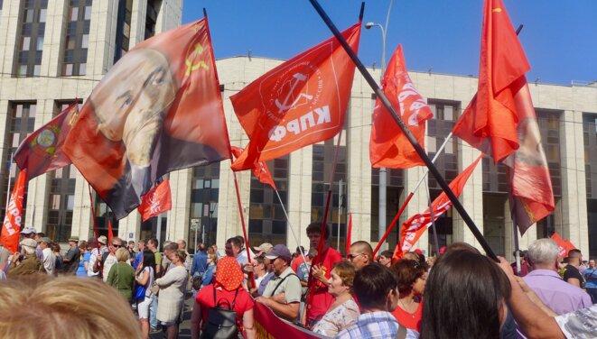 Bannière de Lénine © CB