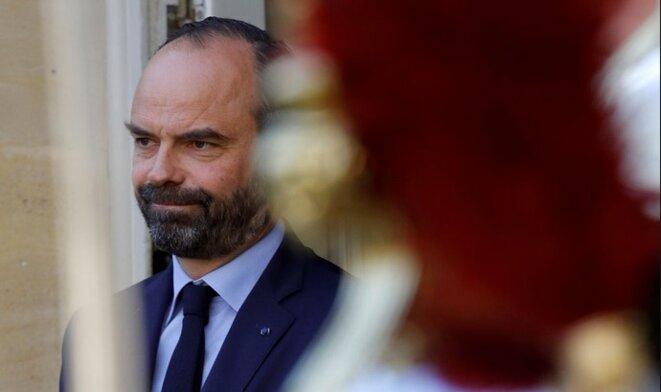 Édouard Philippe a rencontré les syndicats et le patronat fin août pour débattre des sujets de réformes. © Reuters