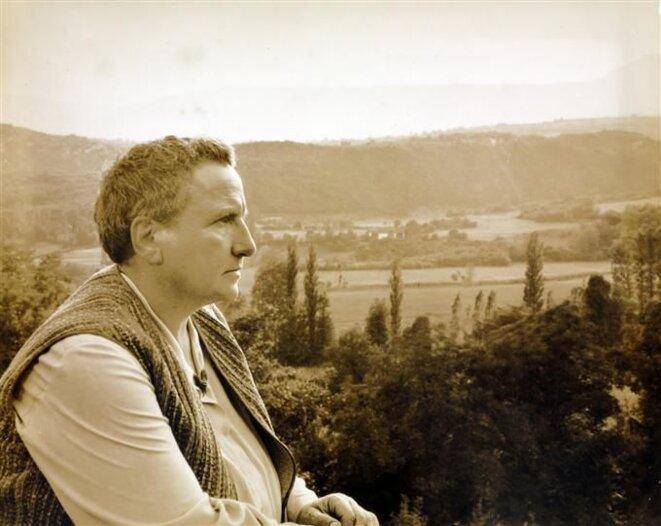 Gertrude Stein par George Platt Lynes.