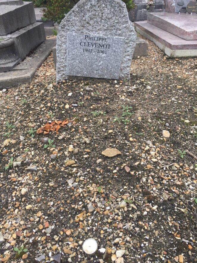 tombe de Philippe Clévenot © jpt