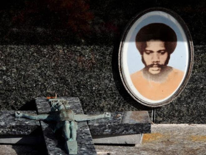 La tombe d'Alphonse Dianou. © Blog de Jean-Guy Gourson