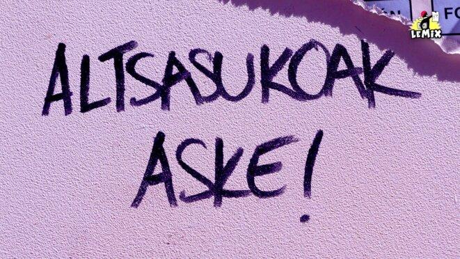 «Pour ceux d'Altsasu, liberté ! » © LPL