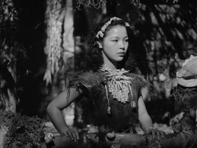 Akemi Negishi dans «Anatahan ».