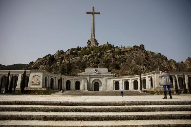 El « Valle de los Caídos ». © Reuters