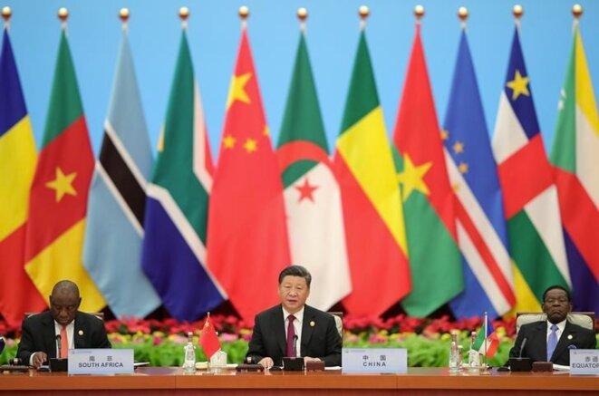 Lors du forum sur la coopération sino-africaine organisé à Beijing, le 4 septembre 2018. © Reuters