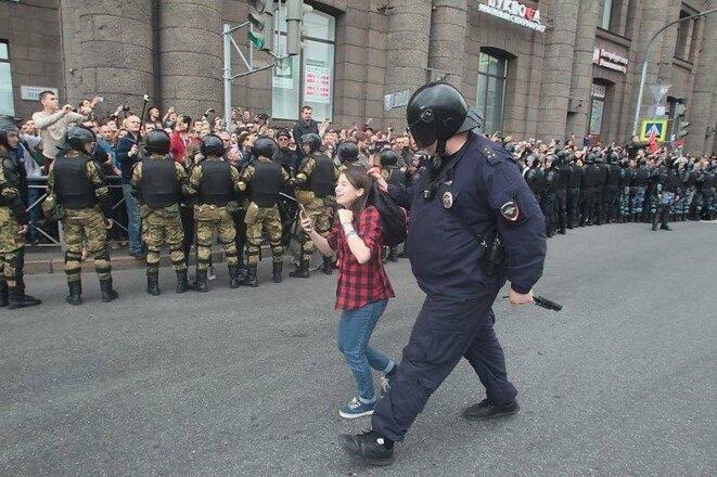 Arrestation le 9 septembre © Facebook