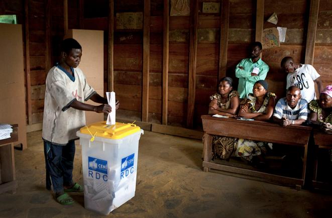 Pendant les élections de 2011 © Monusco - DR