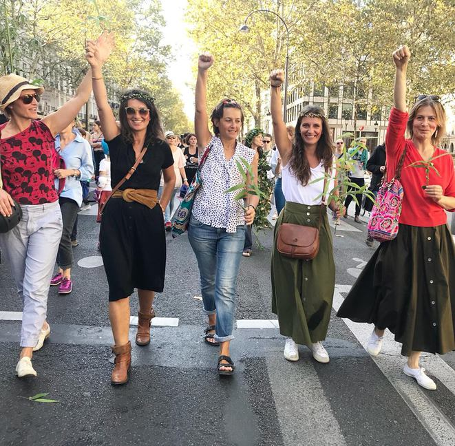 #RiseforClimate #WomenontheFrontline Paris - 8 septembre