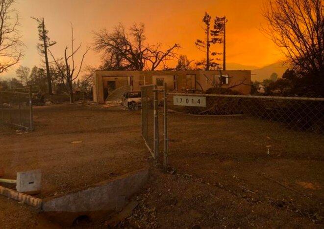 27 juillet 2018. Incendies à Redding, Californie. © Reuters