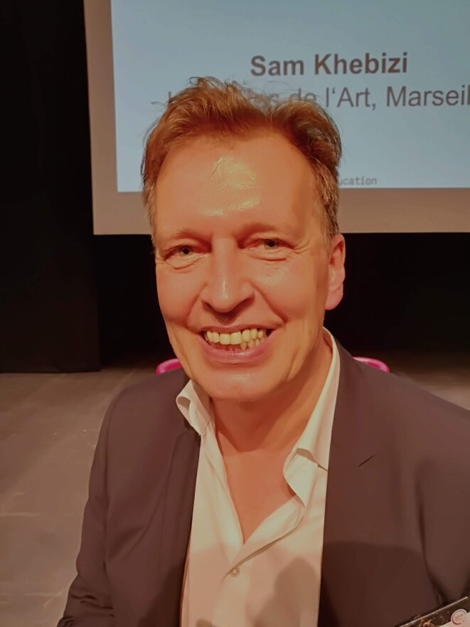 Christoph Müller-Hofstede, directeur de programme - événements et conférences -  à la bpb: Agence Fédérale pour l'Éducation civique © Philippe Léger