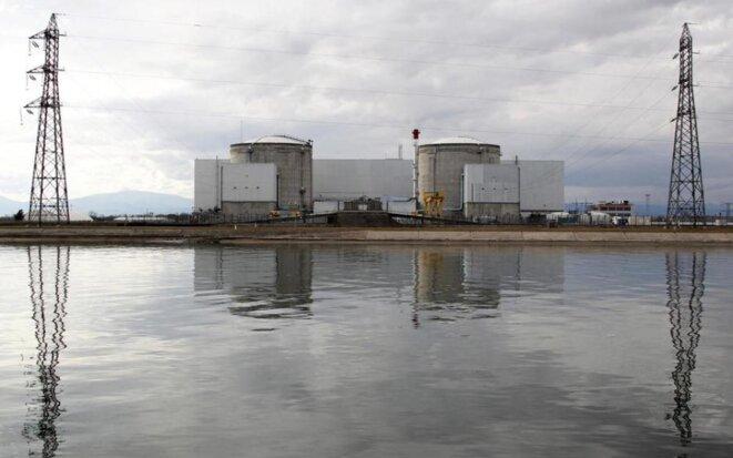 Le centrale nucléaire de Fessenheim, en Alsace. © Reuters