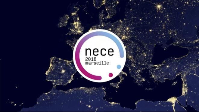 NECE-MARSEILLE 2018, l'affiche officielle de l'événement. © NECE