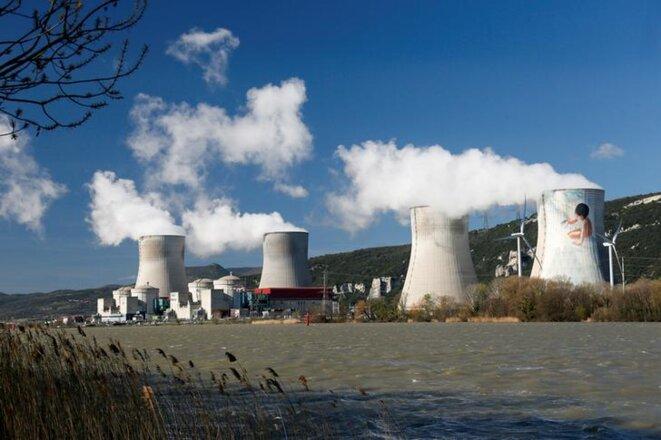 La centrale nucléaire de Cruas (Ardèche) en mars 2017. © Reuters
