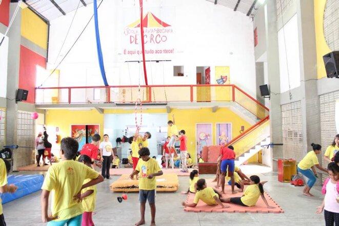 © Karina Morais - Ecole de cirque de Pernambouc