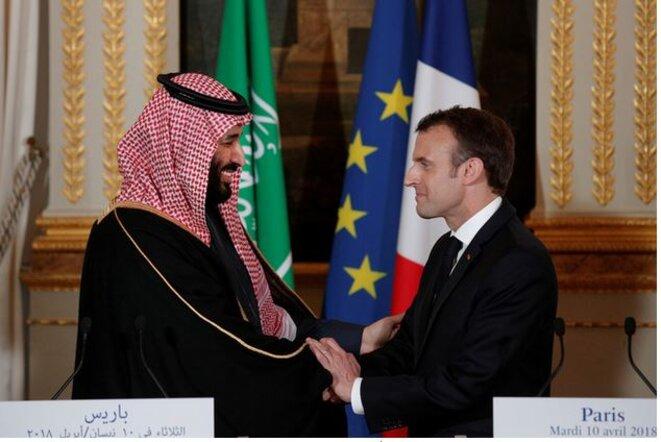 macron-tout-sourire-avec-prince-heritier-mohammed-ben-salmane