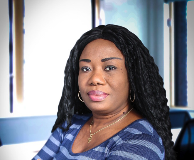 Madame Philo Makiese Sitina, candidate Président de la République en RDC pour 2023. © Philo Makiese