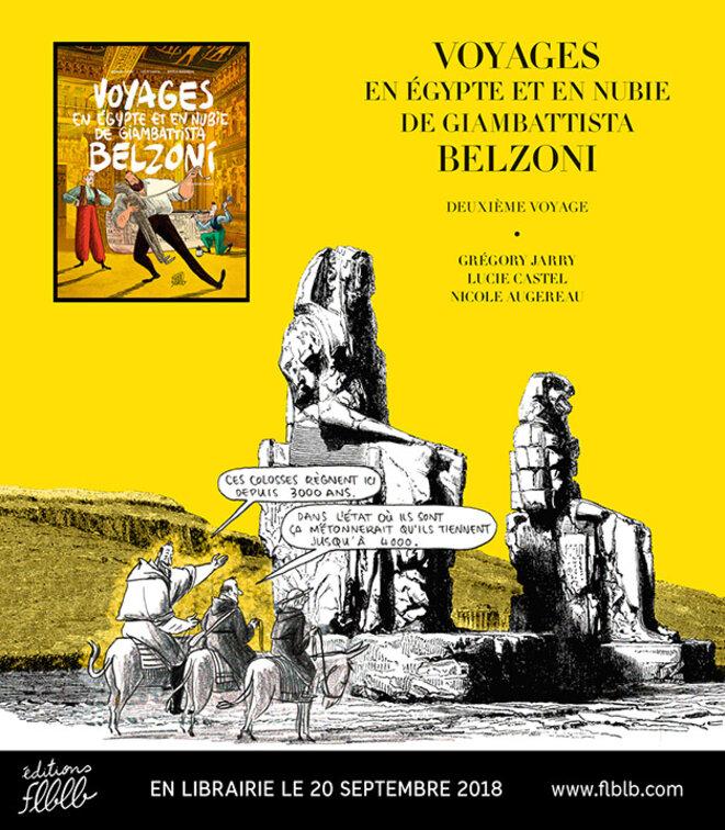 Voyages de Belzoni sur Médiapart